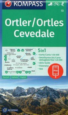 Ortles, Cevedale 1:50.000