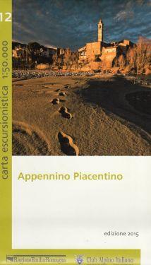 Appennino Piacentino f.12 1:50.000