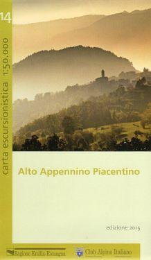 Alto Appennino Piacentino f.14 1:50.000