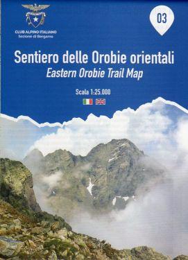 Sentiero delle Orobie Orientali f.3 1:25.000