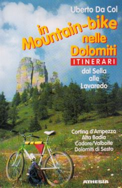 In mountain-bike nelle Dolomiti