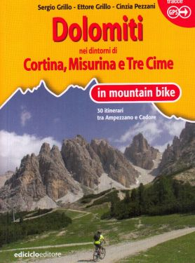 Dolomiti nei dintorni di Cortina, Misurina e Tre Cime in mountain bike
