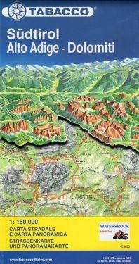 Alto Adige - Dolomiti 1:160.000