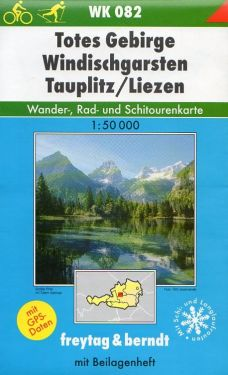 Totes Gebirge, Windischgarsten, Tauplitz, Liezen 1:50.000