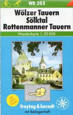 Wolzer Tauern, Solktal, Rottenmanner Tauern 1:50.000