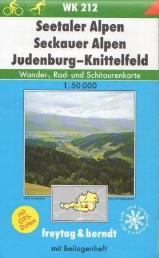 Seetaler Alpen, Seckauer Alpen, Judenburg, Knittelfeld 1:50.000