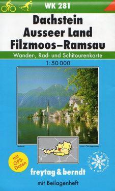 Dachstein, Ausseer Land, Filmoos, Ramsau 1:50.000