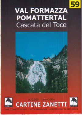 Val Formazza, Pomattertal, Cascata del Toce 1:30.000
