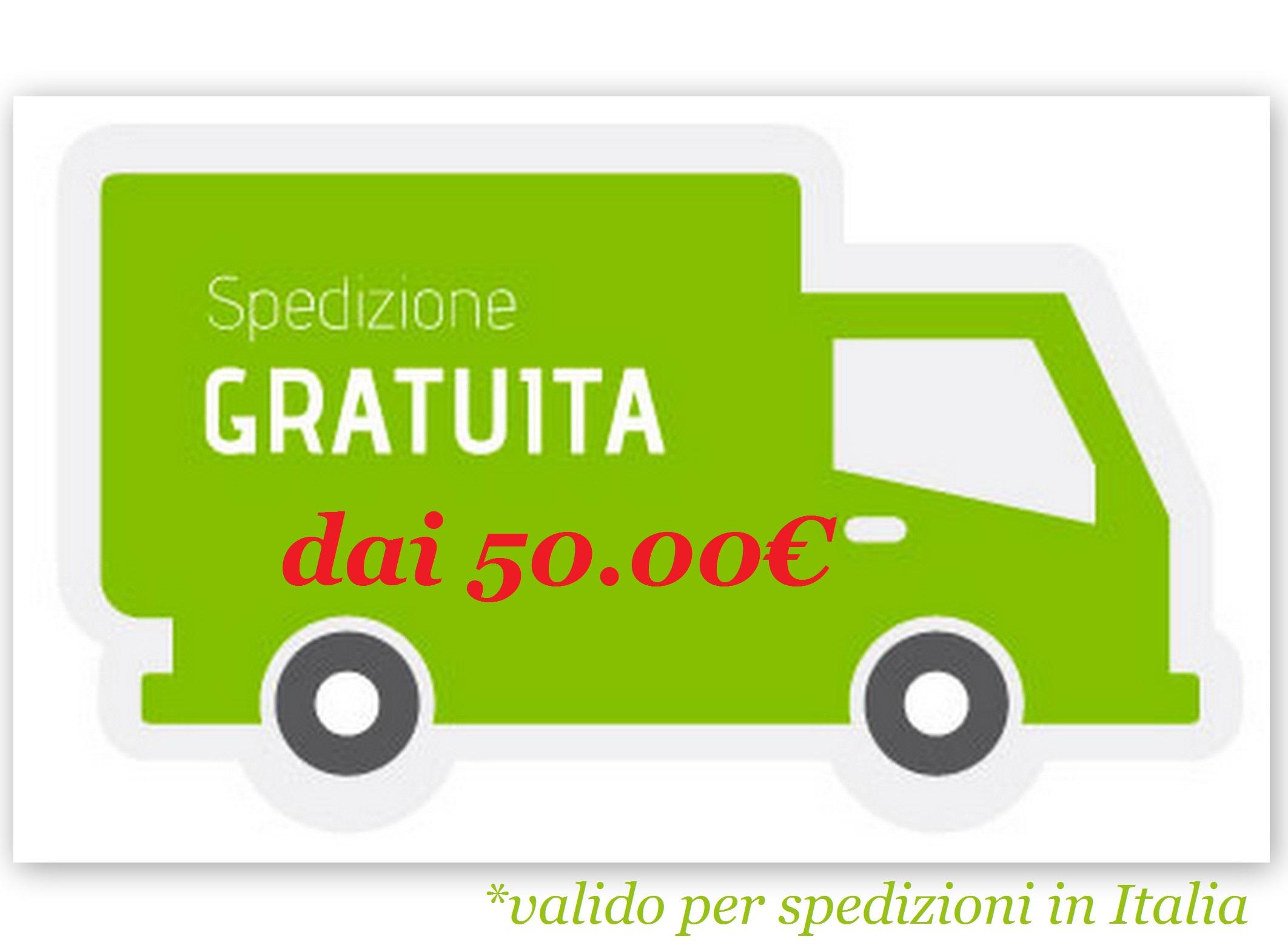 Spedizione Gratuita sopra 50 Euro